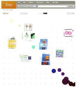 Etsy Color Browser